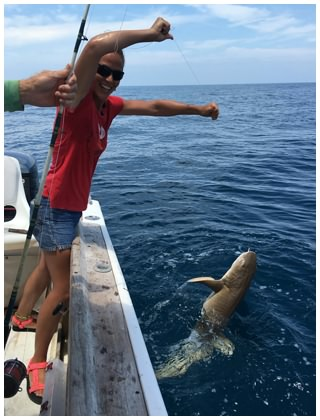Daytona beach shark fishing charters for Shark fishing gear for beach
