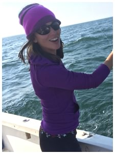 First Mate Melissa of On The Hook Charters