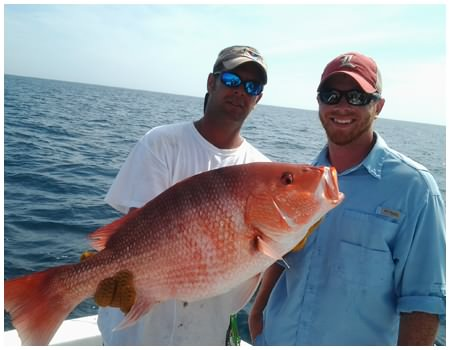 Daytona Beach Red Snapper Fishing with Captain Corey and On The Hook Charters